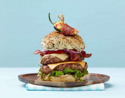 BLT Mega Turkey Burger
