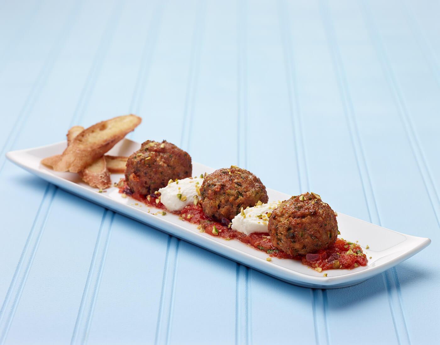 Brooklyn-Style Turkey Meatballs