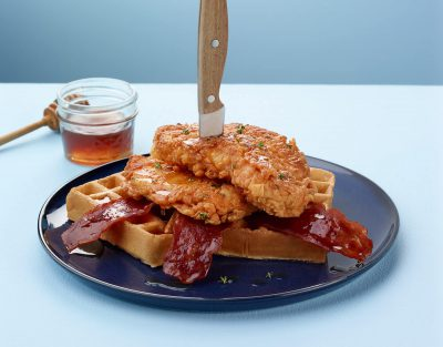 Country Fried Turkey Waffler