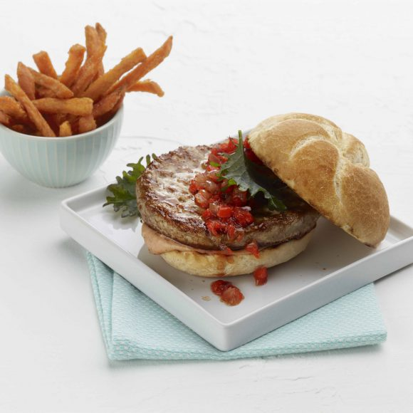 Savory White Turkey Burger - 5.33oz