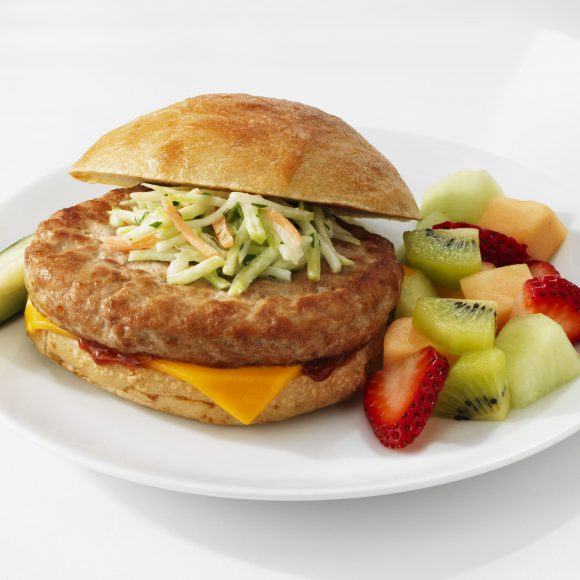 Savory White Turkey Burger Patty - 7.0oz