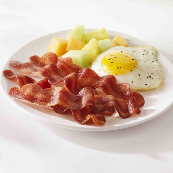 Foodservice Turkey Bacon, 2/6 pound pouches