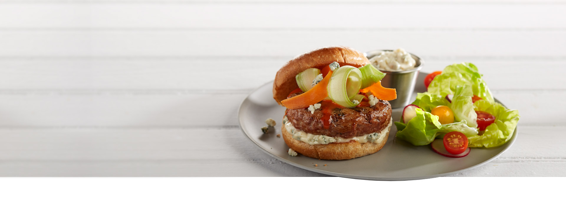 Homestyle turkey burgers have arrived.