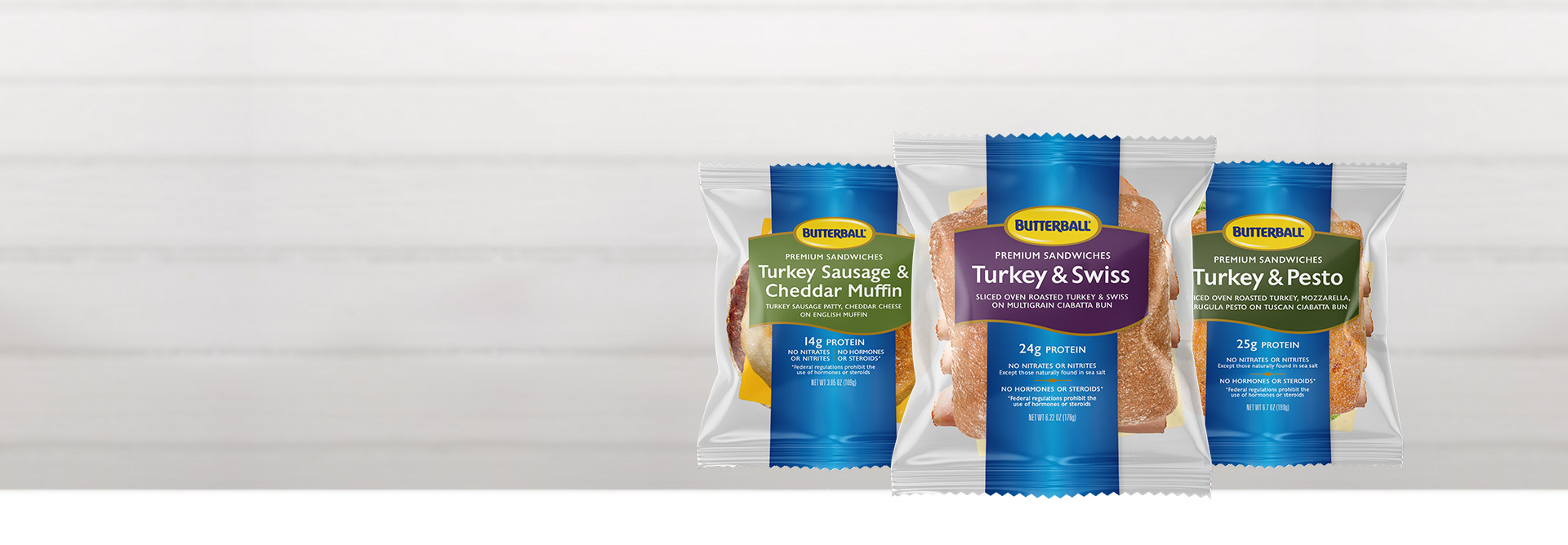 Introducing Individually Wrapped Sandwiches.