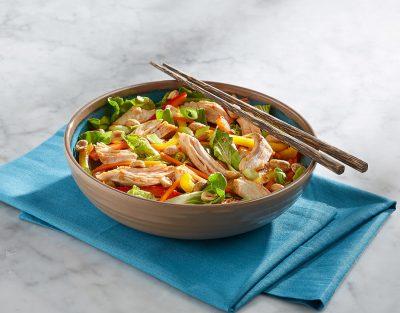 Kung Pao Turkey Salad