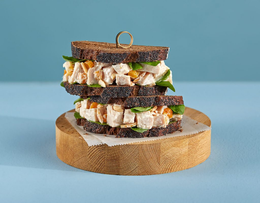 Moroccan-Spiced Turkey Salad Sandwich