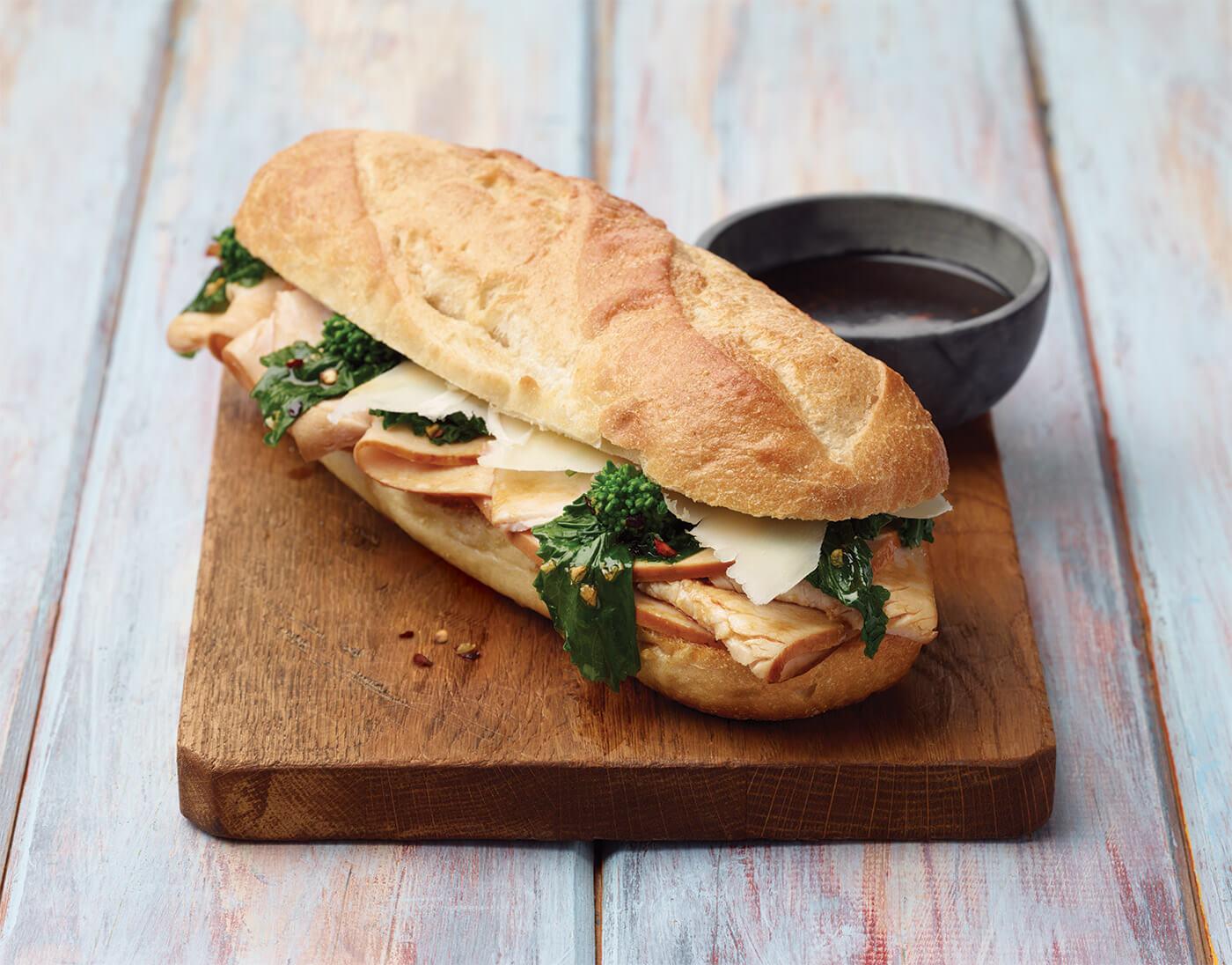 Philly Roasted Turkey Sandwich