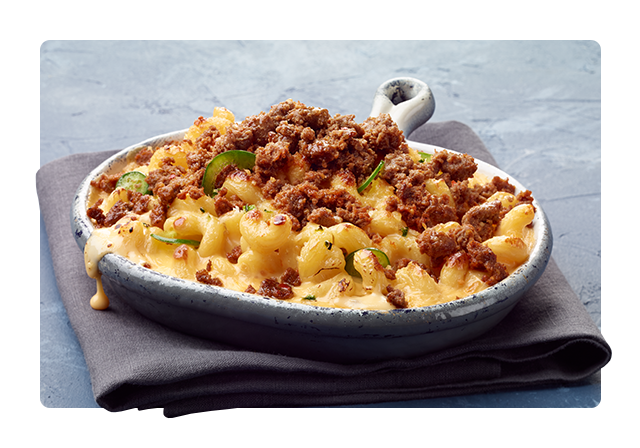 Take mac and cheese to a spicy new place.