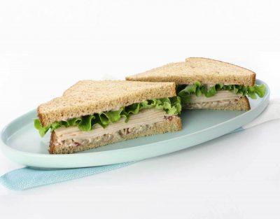 Sunny Cranberry Turkey Sandwich