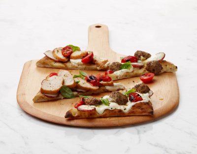 Turkey Flatbread Pizetta
