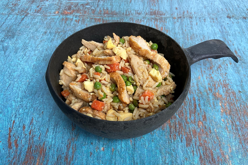 Fried Turkey Rice